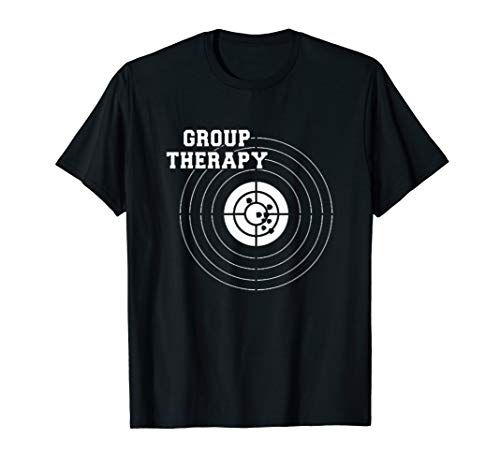 Group Therapy Shooting T Shirt Gun Laws Right American