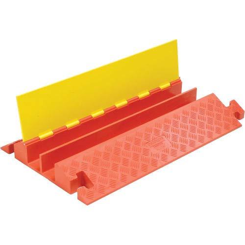 2-Channel Heavy Duty Cable Guard, 36''L x 22''W x 4-1/8''H, Yellow/Orange (CP2X325)