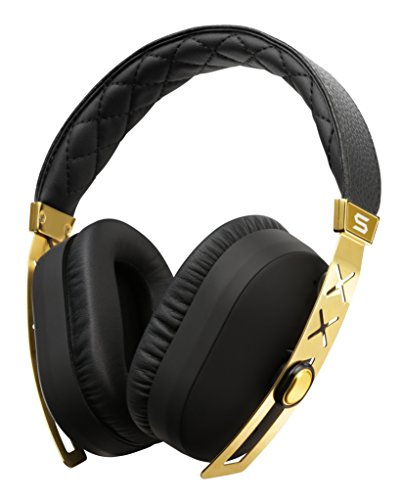 SOUL Electronics SOUL Electronics SJ27GD SOUL Jet Pro 24K Gold Hi Definition Noise Cancelling Headphones, Gold