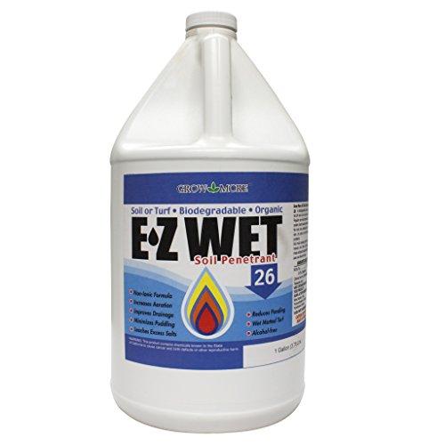 Soil Sweetener - Grow More 8016 EZ Wet Soil Penetrant 26%, 1-Gallon