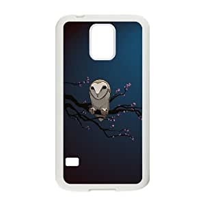 Cute Owl Pattern Hard Case Cover Back Skin Protector for Samsung Galaxy Case S5 HSL437205