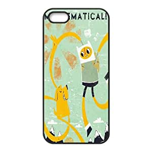 DDOUGS I Adventure Time Cartoon Customised Cell Phone Case for Iphone 5,5S, Wholesale I Adventure Time Cartoon Case