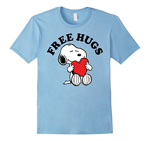 Peanuts Snoopy Free Hugs T Shirt for Men, Women or Kids