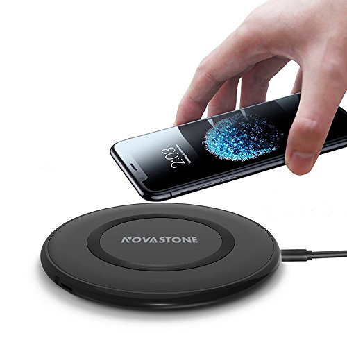 Amazon coupon code for Novastone Wireless Charger, 10W Fast,5W