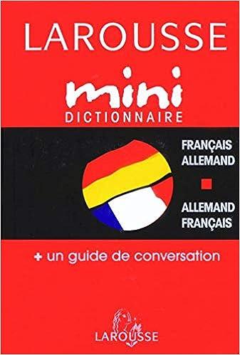 Amazon Fr Mini Dictionnaire Francais Allemand Allemand Francais Collectif Livres