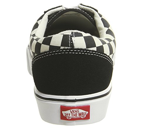 Up Vans Lite White Unisex Trainer Black Checkerboard Old Skool Lace xnBHPZTqn