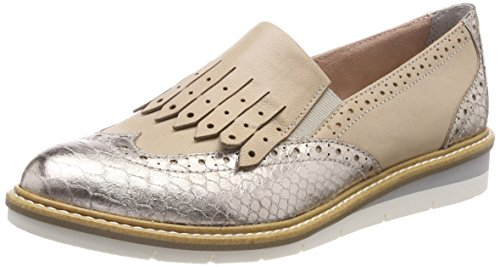 Tamaris Comb 24305 shell Women''s Loafers Beige rqgxr6n