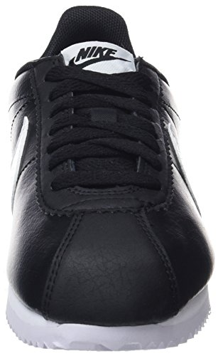 black white Leather Classic Donna Cortez Nero Scarpe 016 Running Wmns Nike black qfx746Sf