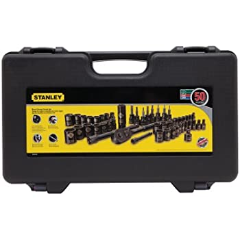 7dc23d8c28b STANLEY 101-Piece Universal Mechanics Tool Set with Metal Tool Box ...