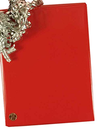 Red Super Gloss Gift Wrap 24'' X 100' by Paper Mart