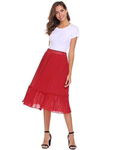 Womens A-line No Pleat Skirt - 6