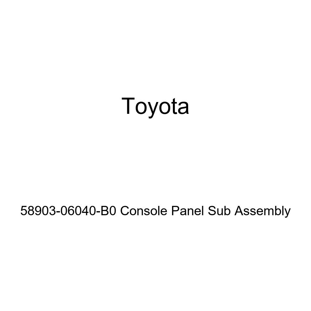 TOYOTA 58903-06040-B0 Console Panel Sub Assembly