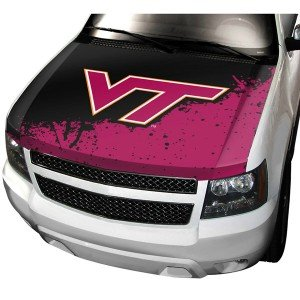 NCAA Virginia Tech Hokies Auto Hood Cover