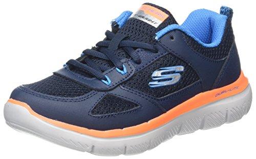 Skechers Jungen Flex Advantage 2.0 Laufschuhe Blau (Navy/Blue)