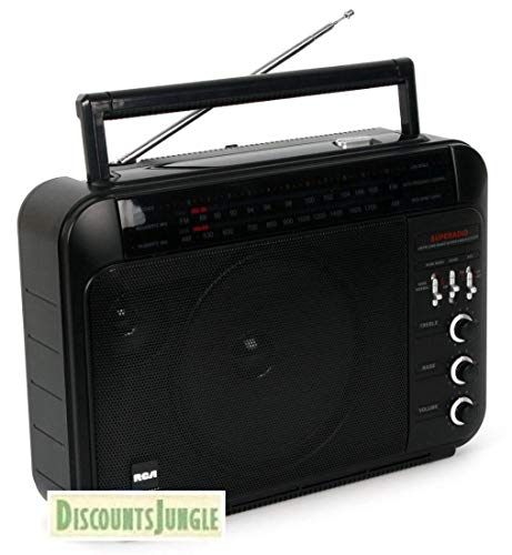 - RCA RP7887 Super Radio 3 AM/FM High-Performance Super Radio III Receiver (Certified REFURBISHED w/Warranty)
