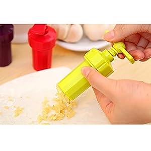 Money coming shop New Kitchen Ginger Garlic Manual Press Twist Cutter Crusher Cooking Tool Plastic Garlic presses Blenders peeler Free shipping