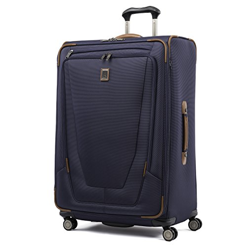Travelpro Luggage Crew 11 29' Expandable Spinner Suitcase with Suiter, Patriot Blue