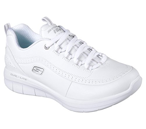 Skechers12359 Reaction Blanco Chain Mujer Chain Skechers12359 Reaction 0n57vqx