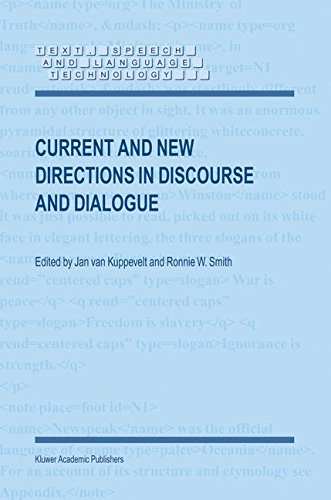 Current and New Directions in Discourse and Dialogue (Text, Speech and Language Technology) ebook