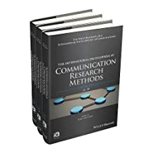 The International Encyclopedia of Communication Research Methods