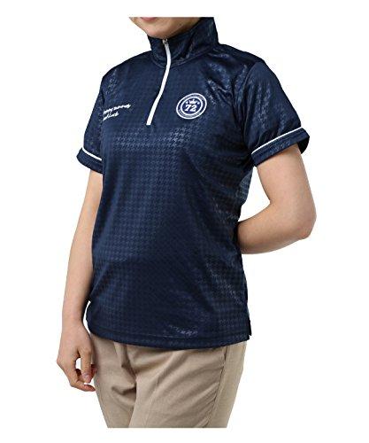 オプスト レディース ゴルフウェア ポロシャツ 半袖 チドリ半袖HZシャツ OP220301H02 NV XO