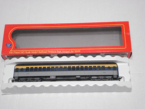 - HO Scale RTR Heavyweight Coach Chesapeake and Ohio #206 Rolling Stock