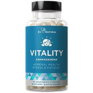 Vitality Adrenal Support, Cortisol Manager, Fatigue Fighter – Stress Relief, Healthy Cortisol, Focused Energy…