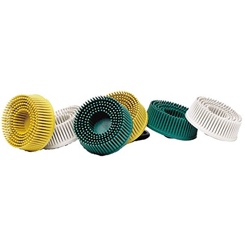 3M 00048011187341 Roloc Nylon Bristle Disc - Diameter: 3'', Grit: 50 - Pack of 2