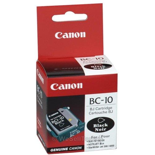 New Genuine Canon BC-10 Black Printhead BC10 Retail Box ; BJC-80 ()