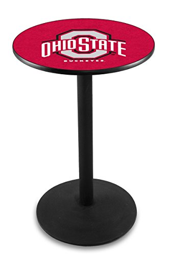 Holland Bar Stool L214B Ohio State University Officially Licensed Pub Table, 28