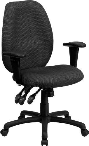 Flash Furniture High Back Multi-Functional Task Chair Gray