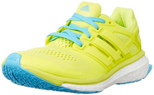 adidas Herren Energy Boost Esm Trainieren/Laufen Yellow (Solar Yellow/Solar Yellow/Bright Cyan)
