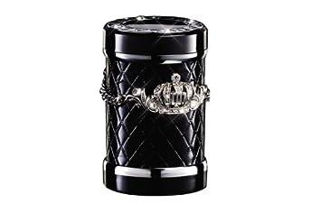 Cenicero Ceniza Botella D.A.D coche tipo corona cristal bebida soporte tipo negro/plata con LED