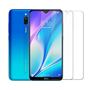 Premium Tempered Glass for Redmi 8A Dual(Transparent) - Pack of 2