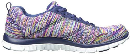 Flex Blu Skechers nvmt Basse Donna blue Appeal Sneaker Whirlwind zYxYwrCqd