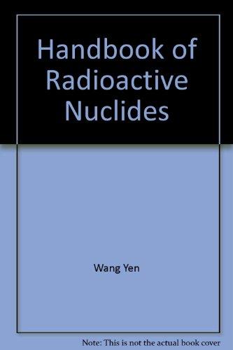 CRC Handbook of Radioactive Nuclides