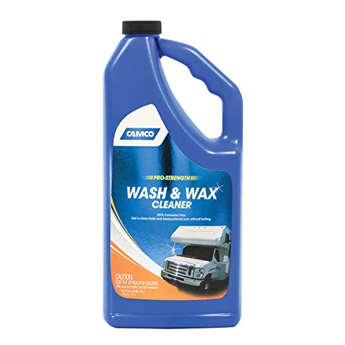 Camco 40493 Rv Wash & Wax 32 Oz, 32. Fluid_Ounces