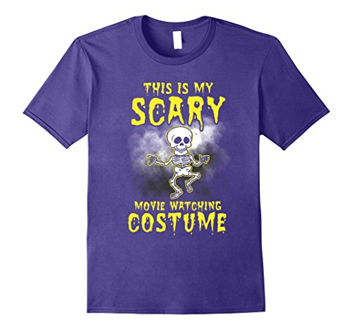 Mens This is My Scary Movie Watching Costume #halloween #scary 3XL Purple - Color Purple Movie Costumes