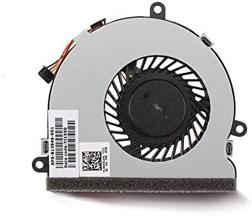 SWCCF New Laptop CPU Cooling Fan for HP 15q-aj005tx 15q-aj006tx 15q-aj103tx 15q-aj102tx 15q-aj104tx