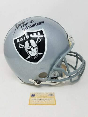 (MARCUS ALLEN Autographed/Inscribed Oakland Raiders Proline Helmet STEINER Limited Edition 32 of 32)