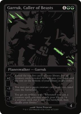 Magic: the Gathering - Garruk, Caller of Beasts - Unique & Misc. Promos - Foil (Magic The Gathering Garruk Caller Of Beasts)
