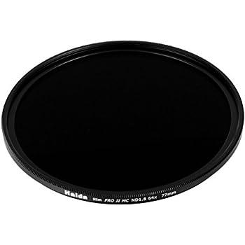 Haida 77mm Slim PROII ND64 Neutral Density Multi-Coated ND 6 Stop 1.8 64x Filter 77