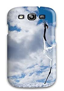 Excellent Galaxy S3 Case Tpu Cover Back Skin Protector Japanese Cranes
