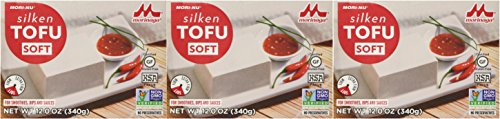 Mori Nu Soft Tofu, Silken, 12-Ounce Packages (Pack of 3)