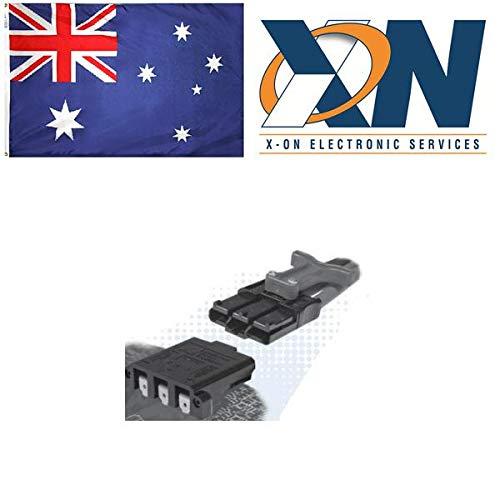 Anderson Power Products SBS75GBLK-BK Conn; High Current; Hsg; Black; 80 V; SBS75G; Self-Mate; Finger Proof; Polycarbonate