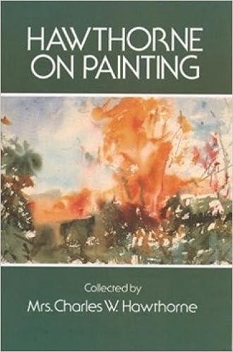 amazon com hawthorne on painting dover art instruction