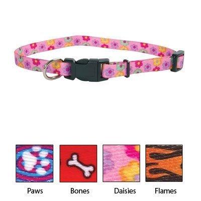 UPC 076484066283, Coastal Pet 5/16 Inch Lil Pals Nylon Adjustable Collar - 6221 6 Inch -8 Inch /Daisy