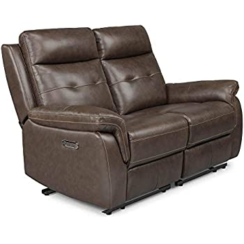 Miraculous Amazon Com Homestyles By Flexsteel Lux Leather Power Motion Unemploymentrelief Wooden Chair Designs For Living Room Unemploymentrelieforg