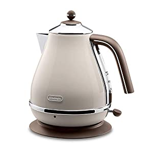Delonghi Electric kettle (1.0L)「ICONA Vintage Collection」KBOV1200J-BG (Dolce Beige)【Japan Domestic genuine products】 2