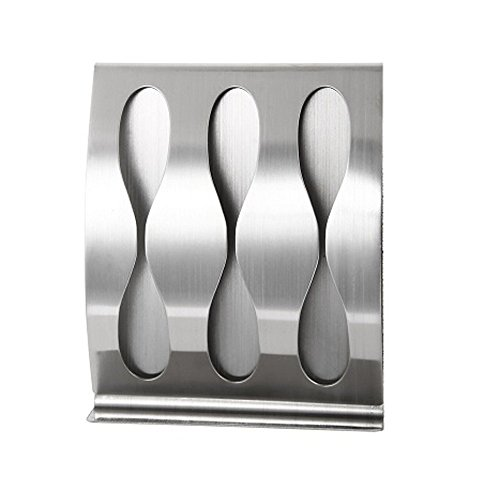 Stainless steel wall mount toothbrush holder 3 position Self-adhesive tooth brush Organizer box bathroom accessories